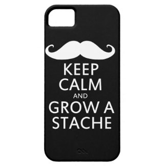 Grow a Stache iPhone SE/5/5s Case