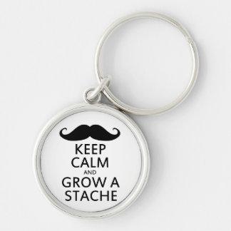 Grow a Stache Keychain