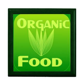 Grow, Eat, Buy organic food gift box