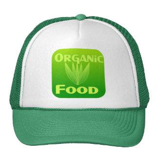 Grow, Eat, Buy organic food hat