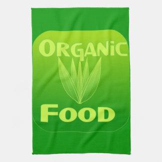 Grow Eat Buy organic food kitchen towel