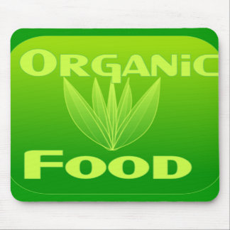 Grow, Eat, Buy organic food mousepad