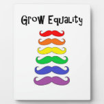 Grow Equality Plaques