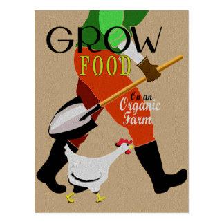 Grow Food Postcard
