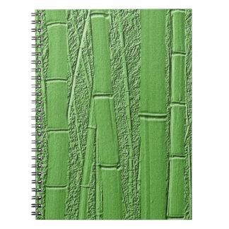 Grow (green bamboo) notebook