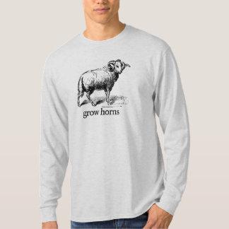 Grow Horns T Shirt