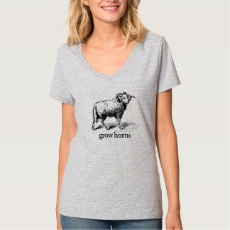 Grow Horns T-shirt
