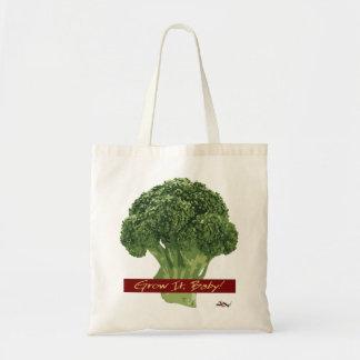 Grow It Baby! - Broccoli Tote