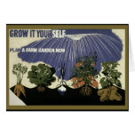 GROW IT YOURSELF - GARDEN GREETING CARD