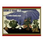 GROW IT YOURSELF - GARDEN POST CARD