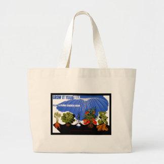 Grow It Yourself ~ Plant a Farm Garden Now Jumbo Tote Bag