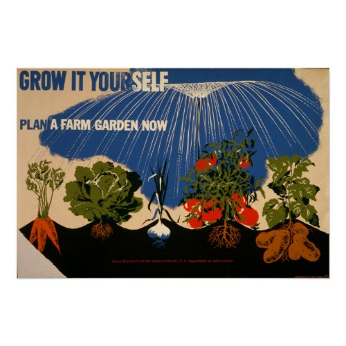 Grow It Yourself Plant A Farm Garden Vintage 1941