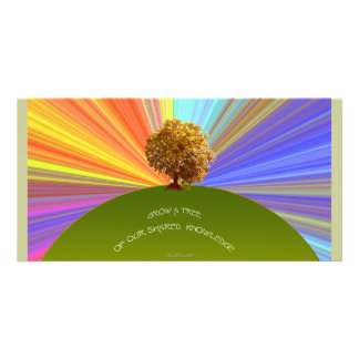 Grow Knowledge Tree Card