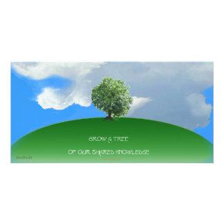 Grow Knowledge Tree Card