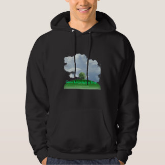 Grow Knowledge Tree Hooded Pullover