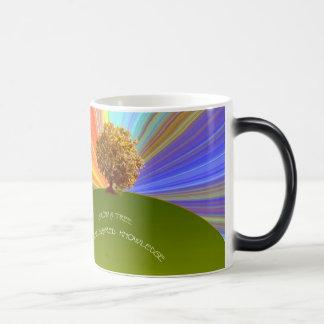 Grow Knowledge Tree Magic Mug