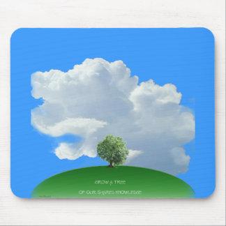 Grow Knowledge Tree Mouse Pad
