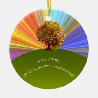Grow Knowledge Tree Ornament