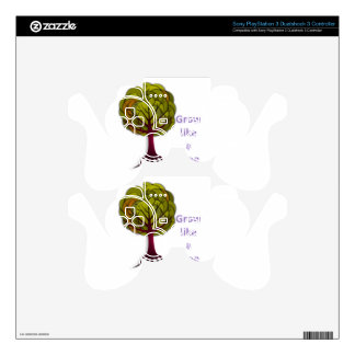 grow like a tree PS3 controller skins