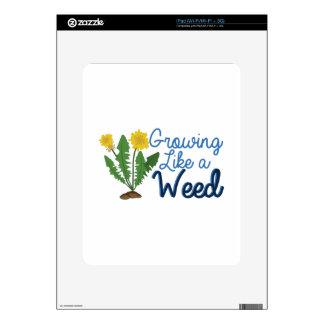 Grow Like Weed Skins For The iPad