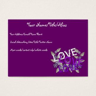 Grow Love Business Card