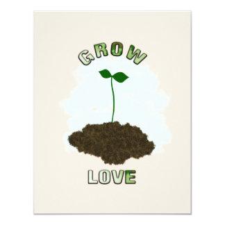 Grow love invitation