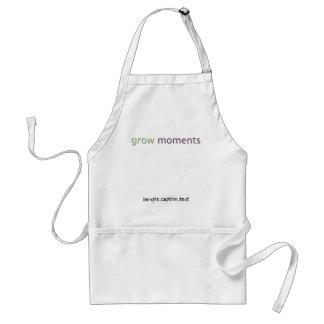 grow moments apron
