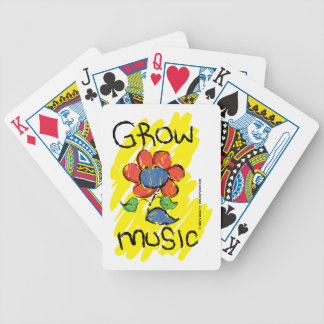 Grow Music Playing Cards