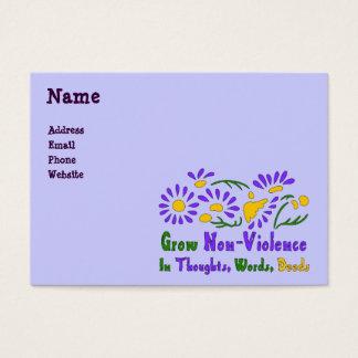 Grow Non-Violence Business Card