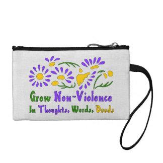 Grow Non-Violence Coin Purse