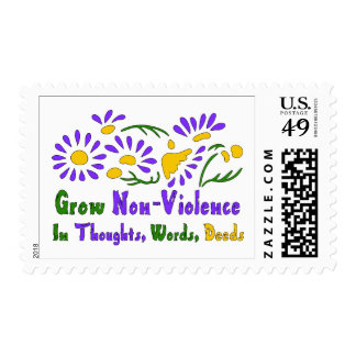 Grow Non-Violence Postage Stamps