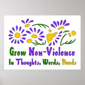 Grow Non-Violence Poster