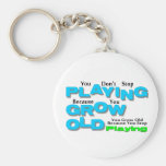 Grow Old Keychains