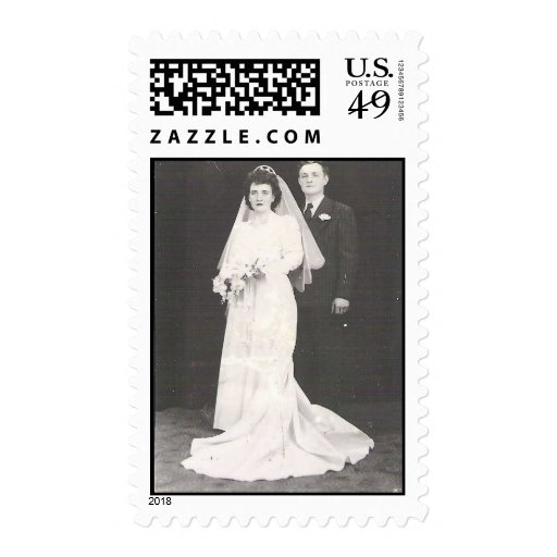 Grow Old Together 60 years Postage Stamps