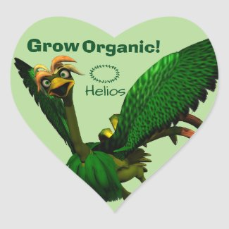 Grow Organic Stickers