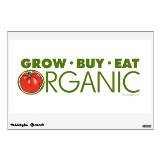 Grow Organic Wall Sticker