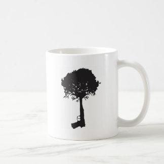grow-peace classic white coffee mug
