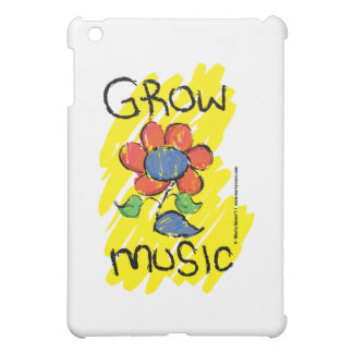 Grow Some Music. Cool Musical Flower Design Case For The iPad Mini