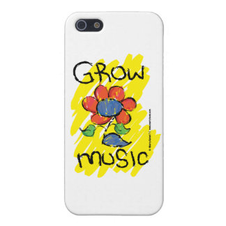Grow Some Music. iPhone 5 Cover