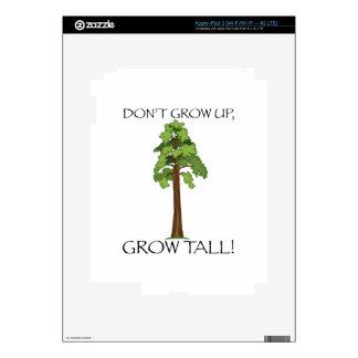 Grow Tall iPad 3 Skin
