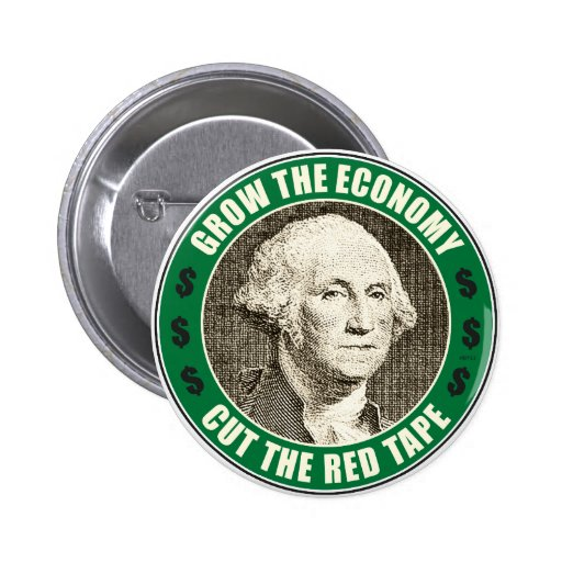 Grow The Economy 2 Inch Round Button