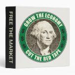 Grow The Economy 3 Ring Binders