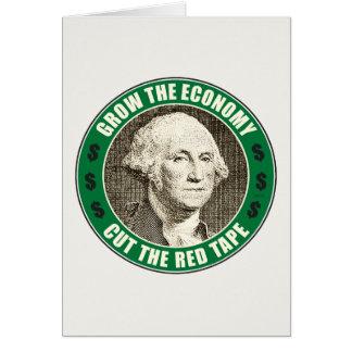 Grow The Economy Card