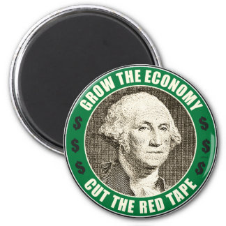 Grow The Economy Magnet