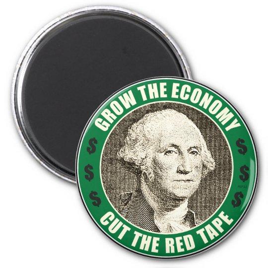 Grow The Economy Magnet