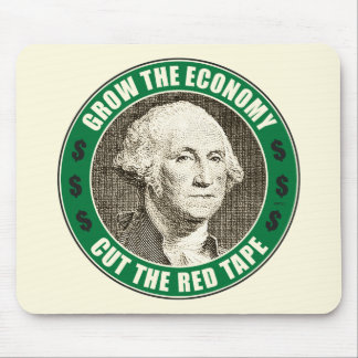 Grow The Economy Mouse Pad