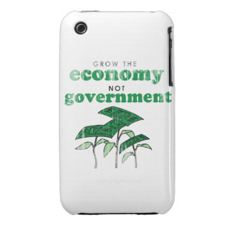 Grow the Economy not government iPhone 3 Case-Mate Cases