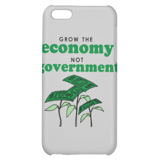 Grow the Economy not government iPhone 5C Cases
