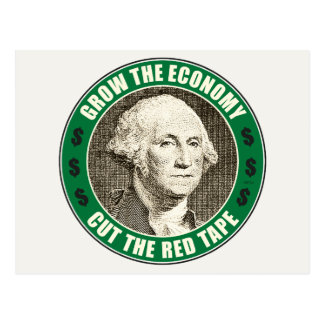 Grow The Economy Postcard