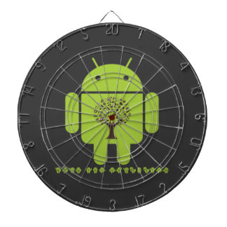 Grow The Ecosystem (Bug Droid Brown Tree) Dartboard With Darts